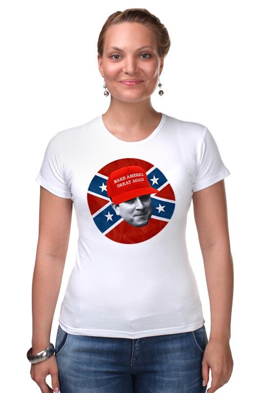 Футболка Стрэйч Printio Dixie rebel kappa футболка wearcraft premium printio dixie rebel kappa