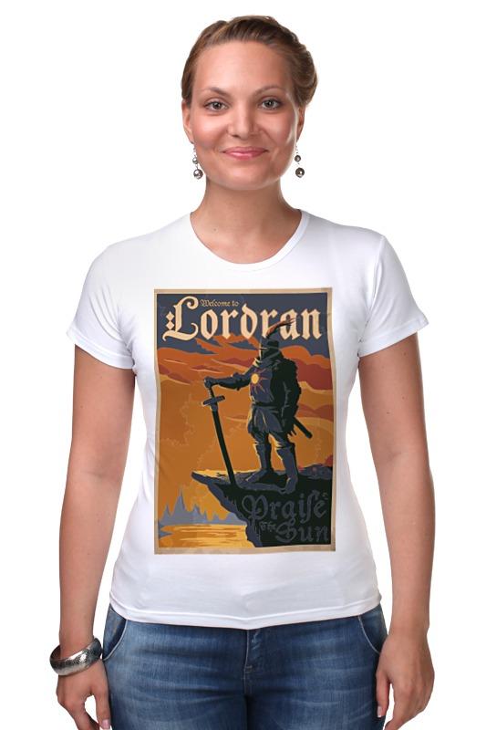 Футболка Стрэйч Printio Lordran poster футболка стрэйч printio gta 5 poster