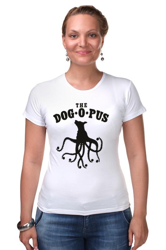 Футболка Стрэйч Printio The dog o pus the porcelain dog