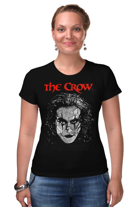 Футболка Стрэйч Printio The crow футболка стрэйч printio мастер и маргарита