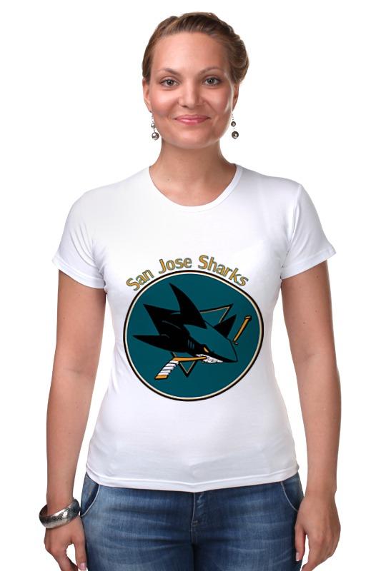 Футболка Стрэйч Printio San jose sharks майка классическая printio san jose sharks сан хосе шаркс