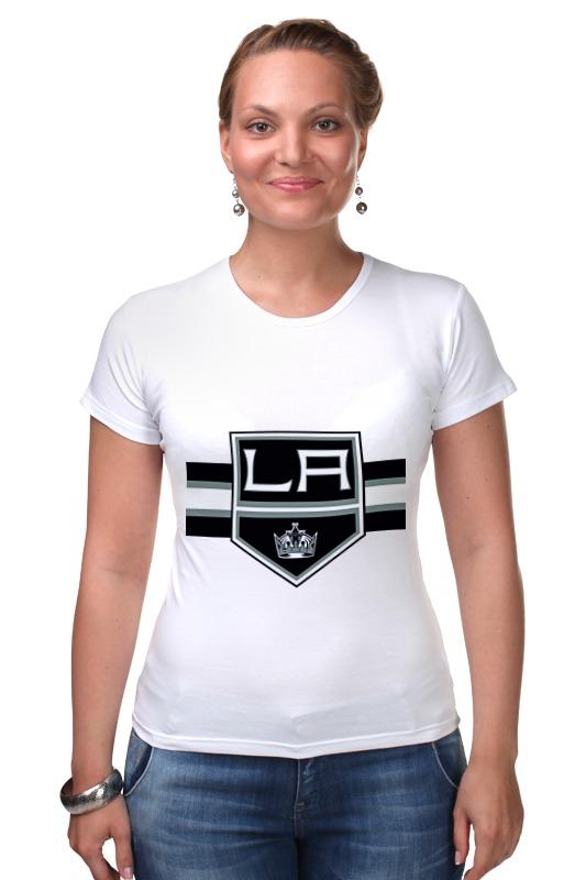 Футболка Стрэйч Printio Лос-анджелес кингс футболка wearcraft premium printio los angeles kings nhl usa
