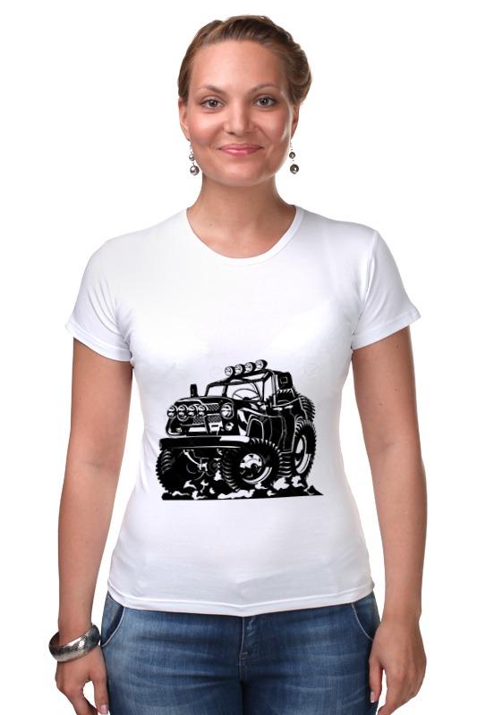Футболка Стрэйч Printio Авто уаз детская футболка классическая унисекс printio авто уаз