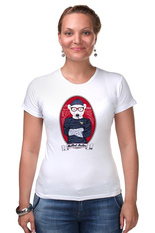 Футболка Стрэйч Printio Моряк футболка стрэйч printio моряк попай
