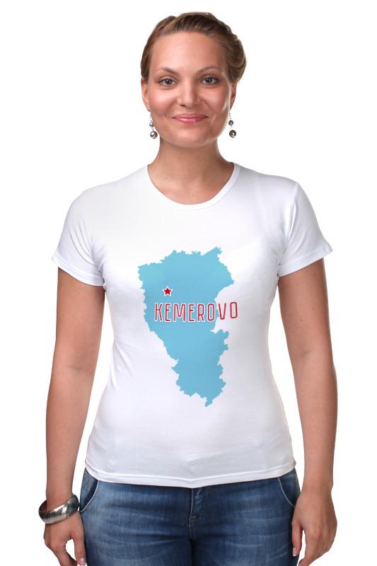 Футболка Стрэйч Printio Кемеровская область. кемерово