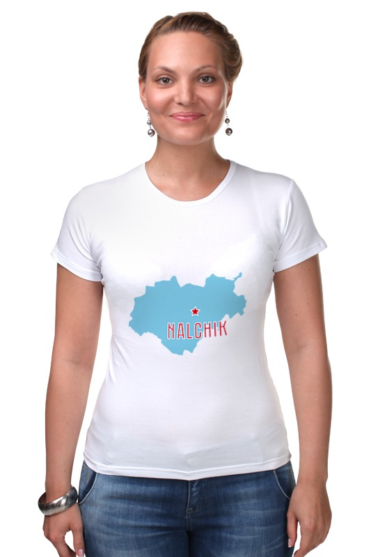 Футболка Стрэйч Printio Республика кабардино-балкария. нальчик футболка рингер printio республика удмуртия ижевск