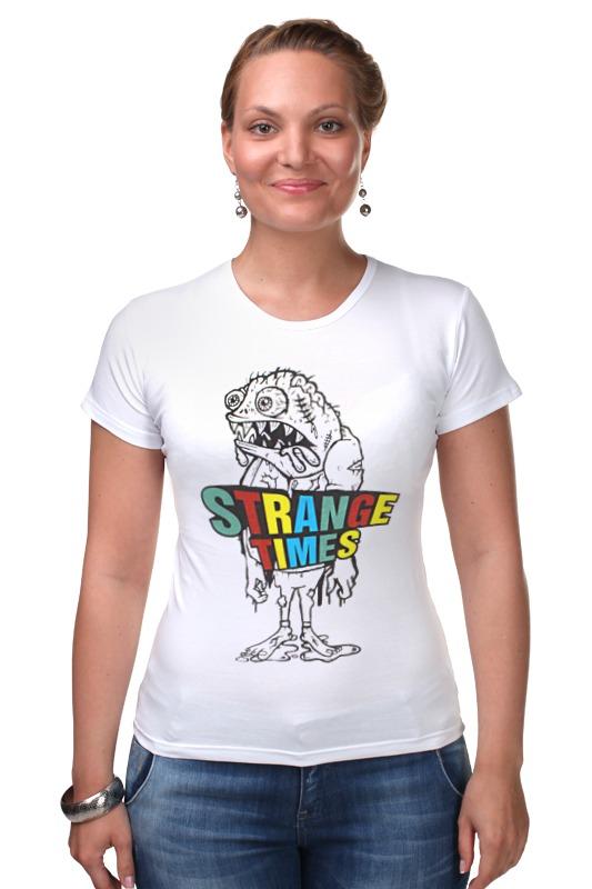 Футболка Стрэйч Printio Strange times goon tothestars футболка рингер printio strange times goon tothestars