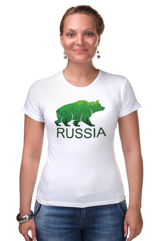 Футболка Стрэйч Printio Россия, russia футболка стрэйч printio россия украина
