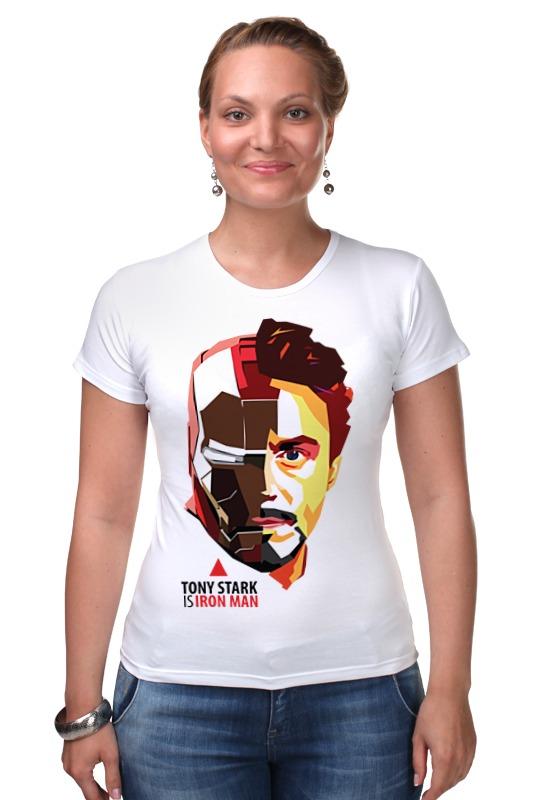 Футболка Стрэйч Printio Tony stark (iron man) футболка классическая printio stark bucks coffee iron man