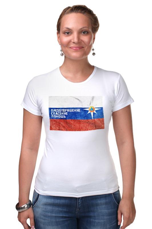 Футболка Стрэйч Printio Мчс россии футболка стрэйч printio штаты россии