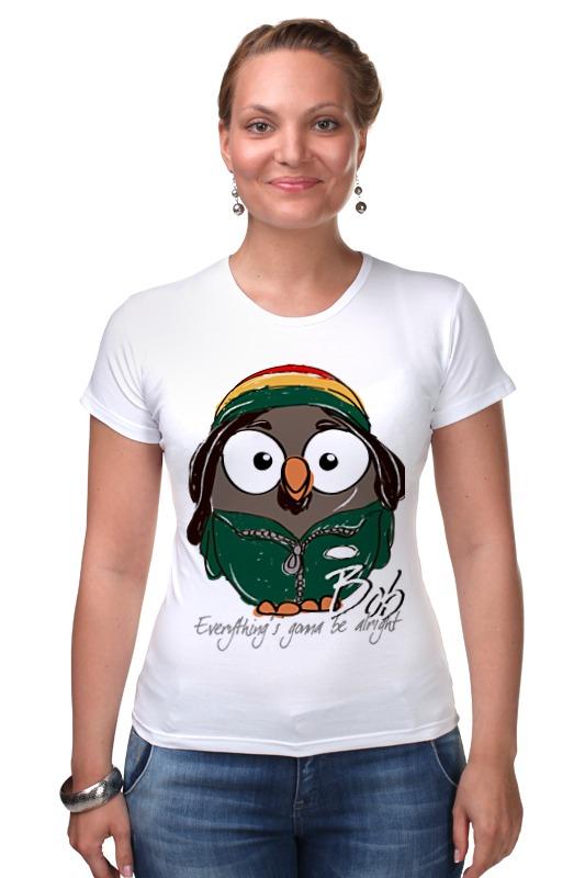 Футболка Стрэйч Printio Сова боб марли суперсова goofi футболка классическая printio сова сальвадор дали суперсова goofi