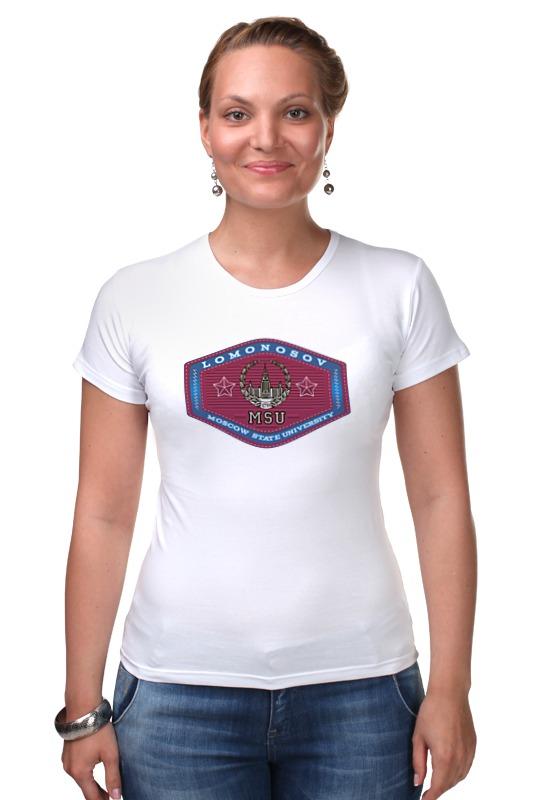 Футболка Стрэйч Printio Футболка женская мгу футболка стрэйч printio 62 2% в саратове