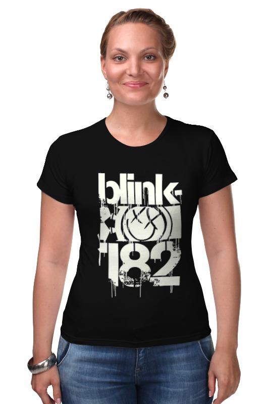 Футболка Стрэйч Printio Blink-182 smile shirt