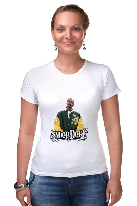 Футболка Стрэйч Printio Snoop dogg брелок blue sky faux snoop dogg taobao pc006