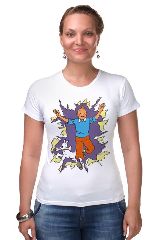 Футболка Стрэйч Printio Приключения тинтина футболка tintin heart