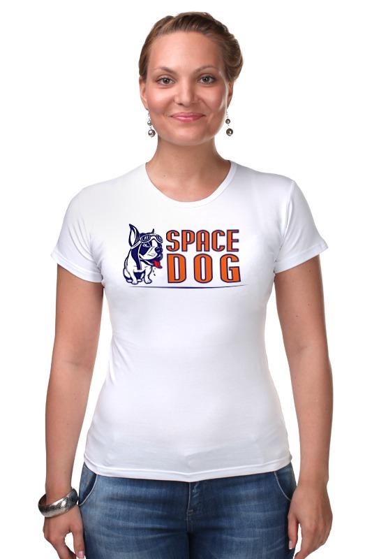 Футболка Стрэйч Printio Space dog сумка printio gta 5 dog