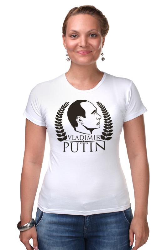 где купить  Футболка Стрэйч Printio Vladimir putin  по лучшей цене