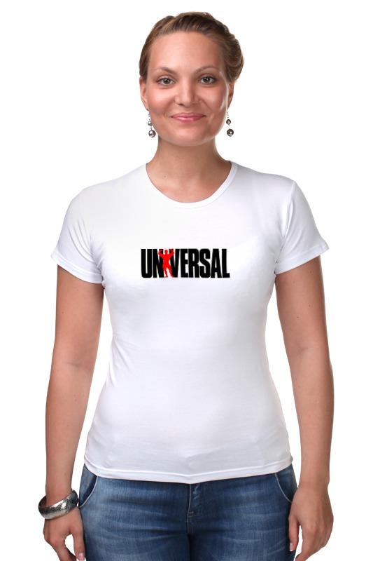 Футболка Стрэйч Printio Universal nutrition