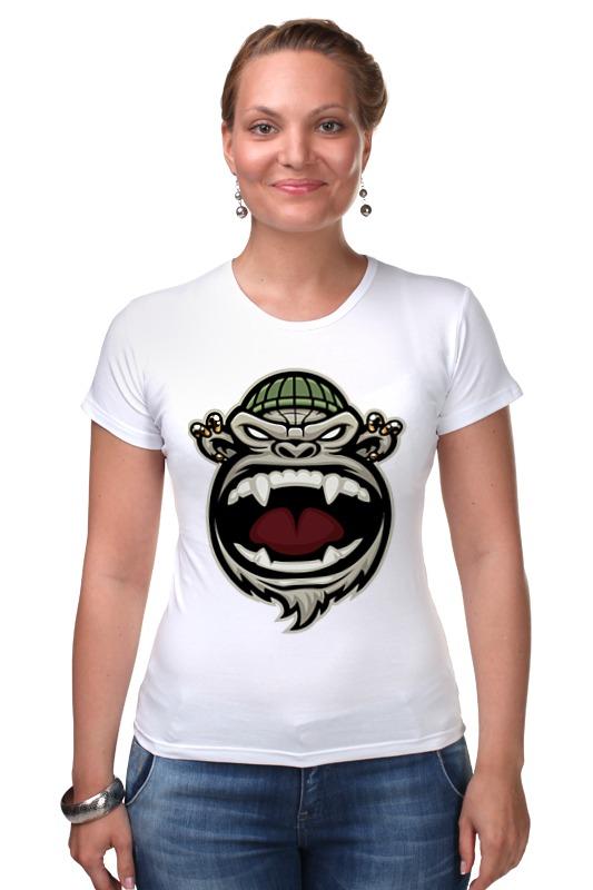 Футболка Стрэйч Printio Обезьяна (monkey) футболка стрэйч printio моряк попай