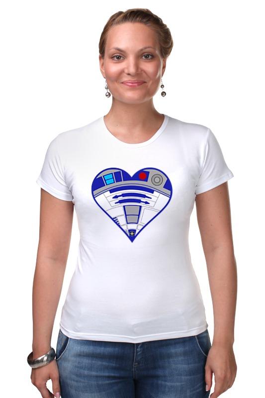 Футболка Стрэйч Printio R2-d2 (star wars) футболка стрэйч printio star wars r2 d2 c3po