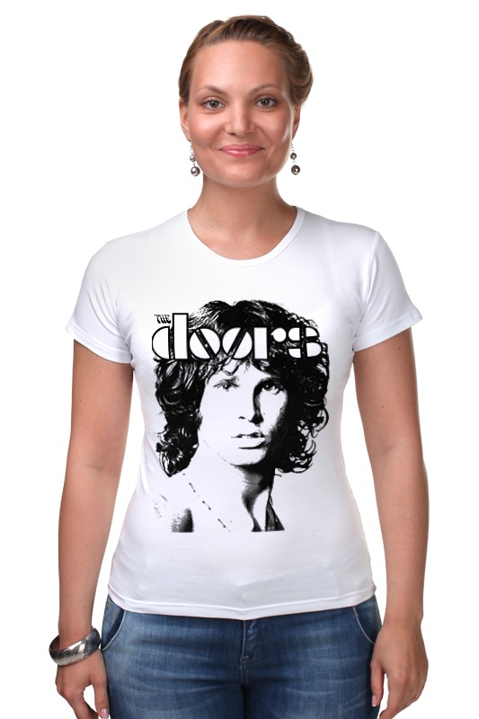Футболка Стрэйч Printio The doors jim morrison футболка для беременных printio the doors jim morrison