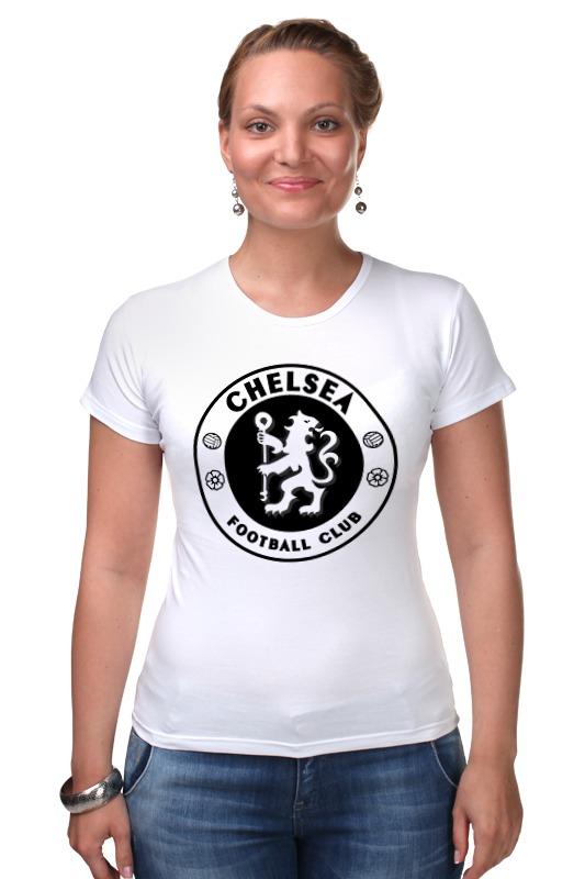 Футболка Стрэйч Printio Chelsea (челси) майка классическая printio челси