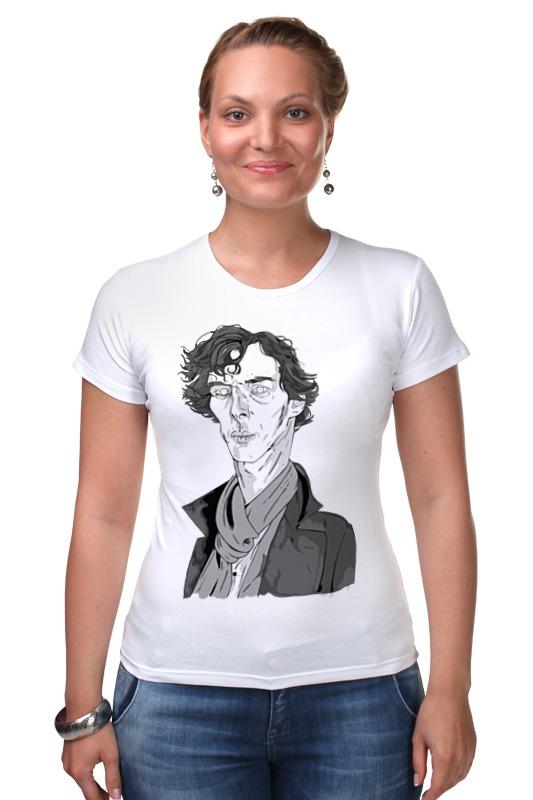 Футболка Стрэйч Printio Шерлок холмс (sherlock holmes) футболка для беременных printio шерлок холмс sherlock holmes