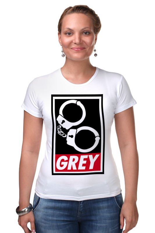 Футболка Стрэйч Printio 50 оттенков серого (fifty shades of grey) недорого