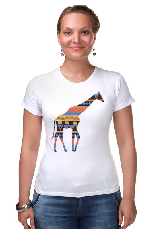 Футболка Стрэйч Printio Жираф футболка стрэйч printio 62 2% в саратове
