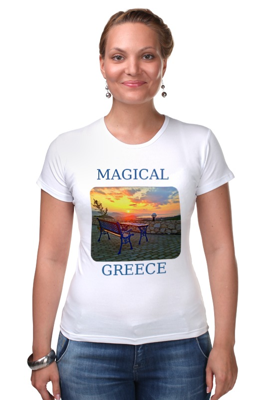 Футболка Стрэйч Printio Магическая греция белье gezanne шорты магическая волна l