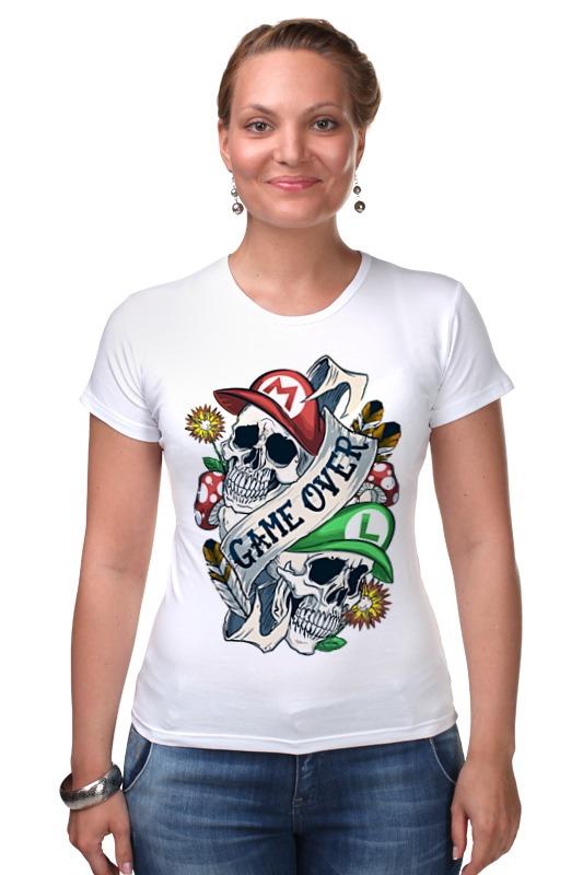 Футболка Стрэйч Printio Марио и луиджи футболка стрэйч printio кинг бу марио
