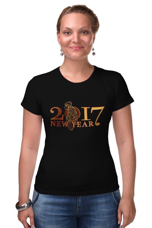 Футболка Стрэйч Printio Новый год 2017 новый