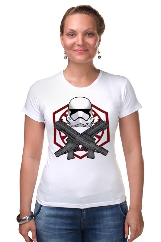 Футболка Стрэйч Printio First order trooper - star wars лонгслив printio first order star wars