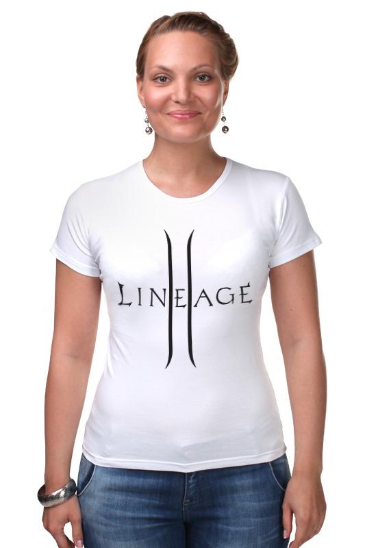 Футболка Стрэйч Printio Lineage 2 inhuman vol 3 lineage