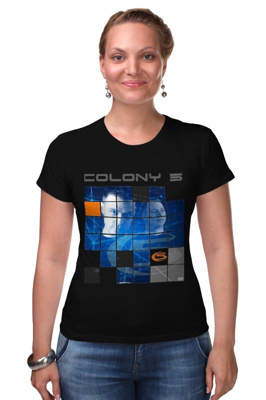 Футболка Стрэйч Printio Colony 5 футболка стрэйч printio штаты россии
