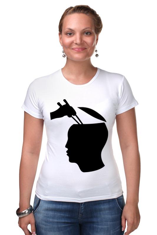 Футболка Стрэйч Printio Палочки для суши футболка wearcraft premium printio палочки для суши