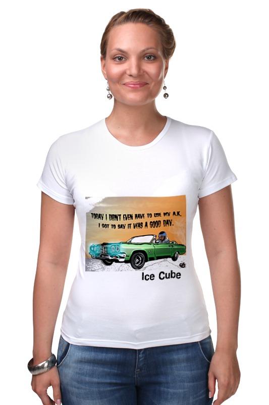 Футболка Стрэйч Printio Ice cube гербер кэтрин лос анджелес
