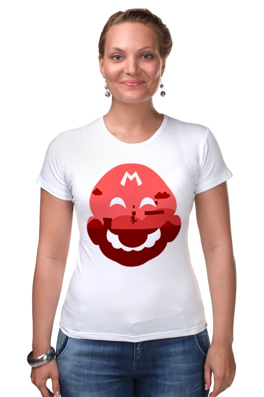 Футболка Стрэйч Printio Марио (mario) футболка стрэйч printio кинг бу марио