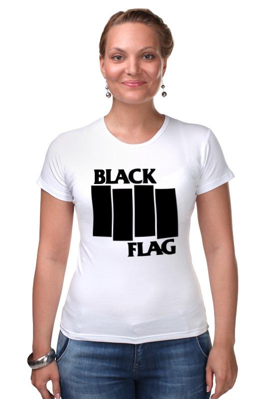 Футболка Стрэйч Printio Black flag сумка printio black flag