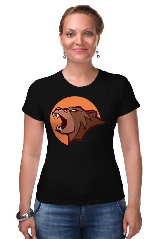 Футболка Стрэйч Printio Bear / медведь футболка стрэйч printio dead teddy bear