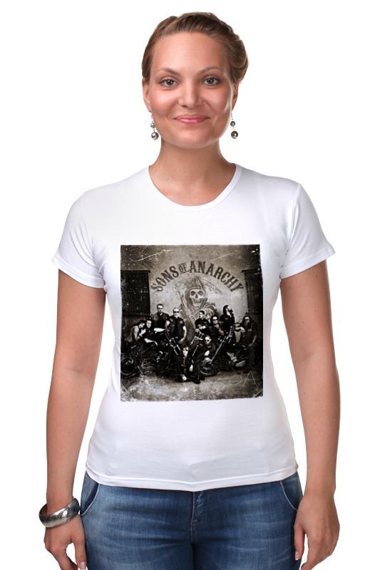 Футболка Стрэйч Printio Сыны анархии футболка wearcraft premium printio сыны анархии