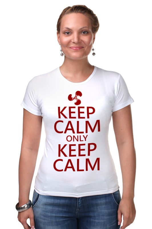 Футболка Стрэйч Printio Keep calm футболка wearcraft premium printio keep calm