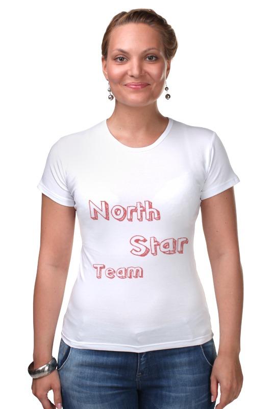 Футболка Стрэйч Printio North star team