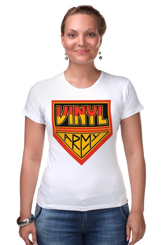 Футболка Стрэйч Printio Виниловая армия футболка для беременных printio виниловая пластинка