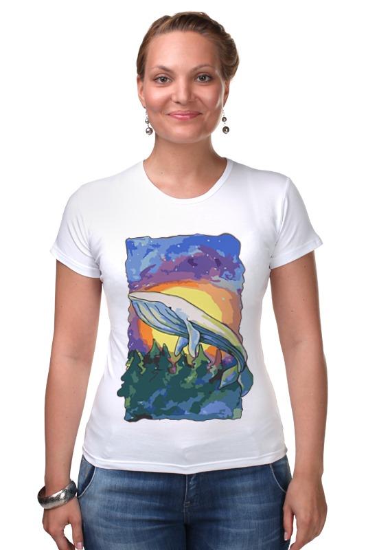 Футболка Стрэйч Printio Волшебный кит футболка wearcraft premium printio волшебный кит