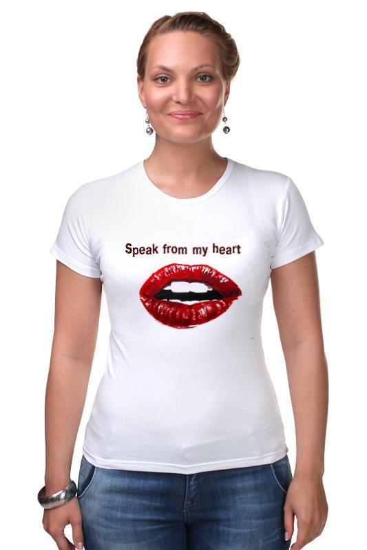 speak easy водолазки Футболка Стрэйч Printio Speak from my heart