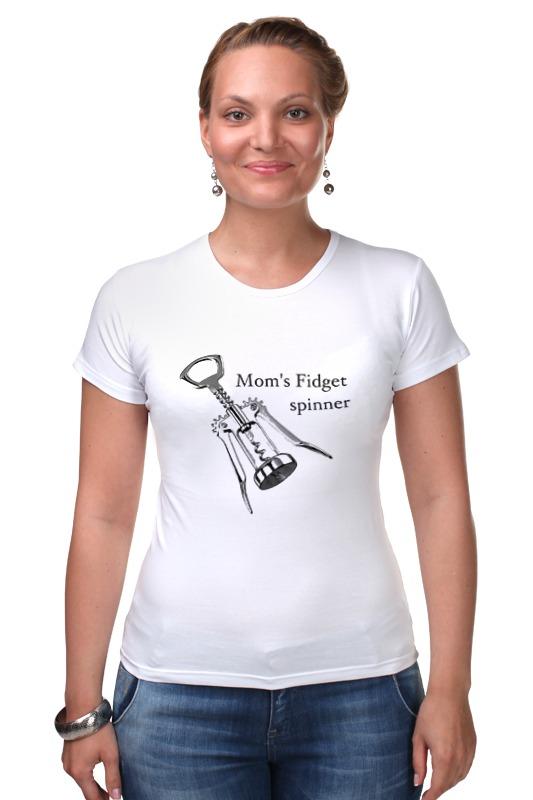 Футболка Стрэйч Printio Мамочкин спиннер футболка классическая printio мамочкин спиннер