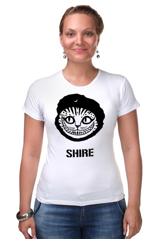 Футболка Стрэйч Printio Чеширский кот плюшевая маска чеширский кот uni