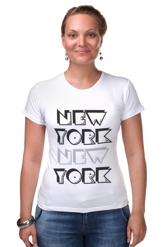 Футболка Стрэйч Printio New york футболка print bar new york apple