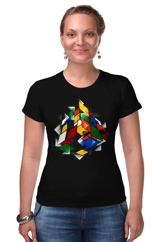 Футболка Стрэйч Printio Кубик рубика кубик рубика 4х4